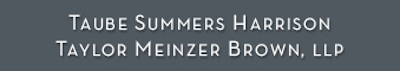 Taube Summers Law Firm logo